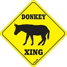 Donkey Xing Sign