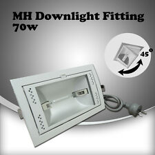 70w DE double ended Metal Halide down light with round earth pin Lighting plug