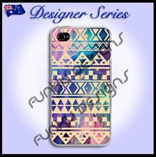 Designer iPhone 4 4S case cover Art Collection Classic Aztec Galaxy Tribal 5