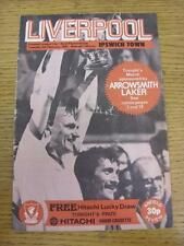 09/02/1982 Football League Cup Semi-Final: Liverpool v Ipswich Town  (Folded). I