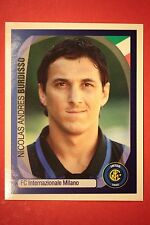 PANINI CHAMPIONS LEAGUE 2007/08 N. 168 BURDISSO INTER WITH BLACK BACK MINT!!