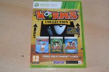 Worms Collection Xbox 360 UK PAL **FREE UK POSTAGE**