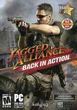 Jagged Alliance Back In Action PC Games Window 10 8 7 Vista XP Steam Strategy