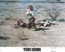 TOM HORN -1980- Original 8x10 Mini Lobby Card #3 - STEVE MCQUEEN, LINDA EVANS
