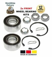 FOR PEUGEOT 308 1.4 1.6 2.0 HDI 16v BIOFLEX 2007-- ON 2x FRONT WHEEL BEARING KIT