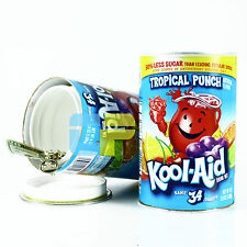 Tropical Punch Diversion Hidden Can Safe Stash Secret Security Compartment