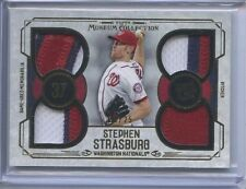 STEPHEN STRASBURG 20/25 GOLD QUAD PATCH 2015 MUSEUM COLLECTION
