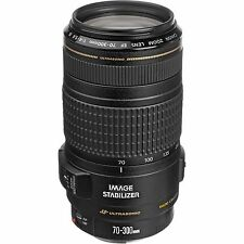 Canon EF 70-300mm f/4-5.6 IS USM Lens NEW