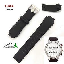 Timex braccialetto di ricambio per t41891 E-Tide & Temp-SILICONE-anche per t41881, t41911