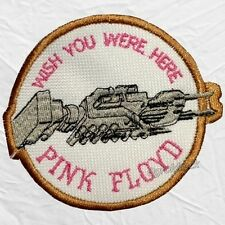 Pink Floyd Wish You Were Here Logo Embroidered Patch Roger Waters David Gilmour