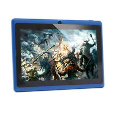 "7"" iRulu Google Android 4.4 Tablet PC Quad Core Camera WiFi 8GB Blue"