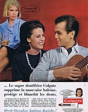 PUBLICITE ADVERTISING 114 1963 COLGATE dentifrice