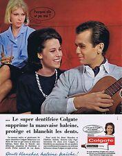 PUBLICITE ADVERTISING 114 1963 COLGATE dentifrice