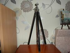 "GOOD Vintage Excelsior ""Double-Star"" Telescopic Tripod • Made in Germany"