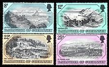 Guernsey - 1982 Old etches (II) - Mi. 241-44 MNH