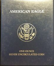 2013-W Burnished American Silver Eagle - Complete with Box and COA