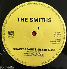 "THE SMITHS -Shakespears Sister- Spanish 12"" with Misprint on label /Vinyl Record"