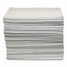 Anchor Brand Oil-Only Sorbent Pads, Gray, 15 x 17, 100/Bundle - ANRABBPO500