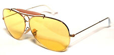 RAY BAN 3138 58 SHOOTER GOLD ORO YELLOW GIALLO AMBERMATIC PERSONALIZZATO REMIX
