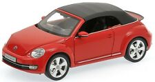 Kyosho 08812TR 2013 Volkswagen Beetle Convertible Tornado Red 1:18 Scale Diecast