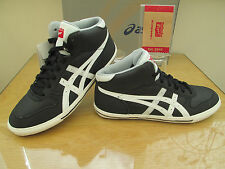 ONITSUKA TIGER AARON MT GS HI TOP BLACK TRAINERS CHUKKA BOOTS  SIZE 5 EU 38