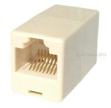10 x rj45 lan Droit Couplage Câble Réseau Ethernet rejoindre conduit ensemble vrac