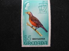 Grenada: 1968 Fauna and Flora Set High Value, $5 Unmounted Mint