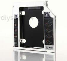 2nd Hard Drive HDD SSD Caddy Adapter for ASUS G75V G75VW G750JX G750JH UJ260 DVD
