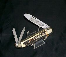 Kissing Crane Stag Knife Rob Klaas Whittler 1980 NKCA Founders Edition Ser #1539
