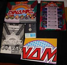 SPECTRUM +3 DISC LO MEJOR DE DINAMIC+POSTER GAME PHANTIS TURBO ARMY FREDDY MARTI