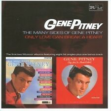 Many Sides of Gene Pitney/Only Love Can Break a Heart by Gene Pitney (CD,...