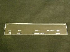 69/70 Mustang or Cougar Power Vent Option Climate Control Faceplate