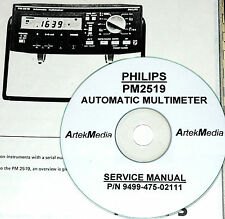 Philips PM2519 Automatic Multimeter Service Manual
