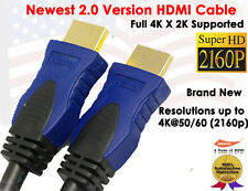 4K ULTRA HDMI 2.0 Version Cable 3FT- Supports 4k x2k, Ethernet,3D,Audio Return