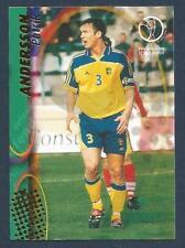 PANINI WORLD CUP 2002- #104-SVERIGE-SWEDEN & BARCELONA-PATRIK ANDERSSON