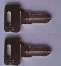 (2) Mobella SouthCo Boat Replacement Keys Pre-Cut To Your Key Code Codes 802-848
