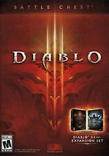 NEW DIABLO 3 III BATTLE CHEST PC MAC DVD EXPANSION SET- New-  (FREE SHIPPING)
