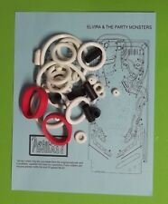 1989 Bally / Midway Elvira and the Party Monsters pinball rubber ring kit EATPM