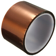 40mm x 30m 100ft Gold  Polyimide Tape High Temperature 260-300℃  Heat Resistant
