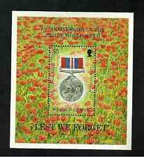 SOLOMON ISLANDS MINISHEET - 'LEST WE FORGET' - 50th ANNIVERSARY END WW11