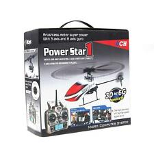 HOT WLtoys V966 Power Star 1 6CH 2.4G 3D Flybarless RC Helicopter 57QC