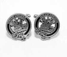 Scottish Clan Douglas Crest Cufflinks, English Pewter, Handmade, Gift Boxed H