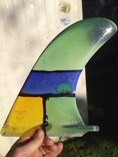 """Rainbow Surfboard Fin 9.75"""" Dog House N"""