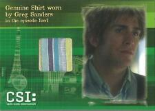CSI Series 3 Costume Card CSIS3-C1 Eric Szmanda Shirt