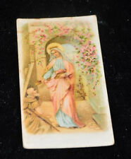 """OLD origenell german miniatur Holy cards """"7746"""" holy maria"""