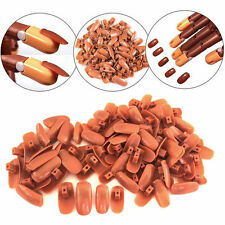 Hand  Tips Flexible  Trainer  Practice  100 Piece  Refill  Finger   For  Nail