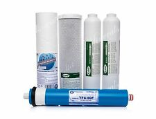 SET OF REVERSE OSMOSIS SYSTEM•FILTERS•REPLACEMENT•WATER FILTER•50GPD•24h uk del