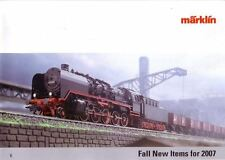 "Marklin Fall 2007 ""New Items"" Catalogue"