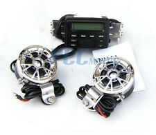 New Motorcycle Bike Audio MP3 FM Radio iPod Stereo Speakers Sound System M TK11