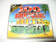 100 Huge Hits of Reggae 4 cd 2007 excellent condition rare